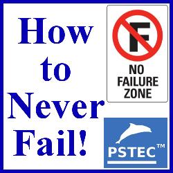 How to never fail